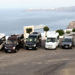 Luxurious buses in Santorini for Private Tours