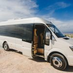 Luxurious buses in Santorini for transfers