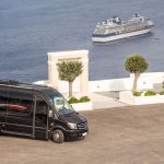 Luxurious buses in Santorini for Private Tours & transfers