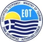 Greek ministry of Tourism - Authorization badge