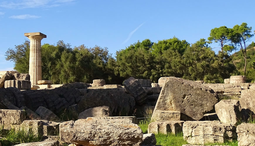 Private tours to Olympia - Greece