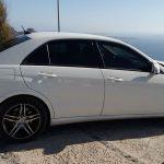 Luxury Car Transfers in Santorini