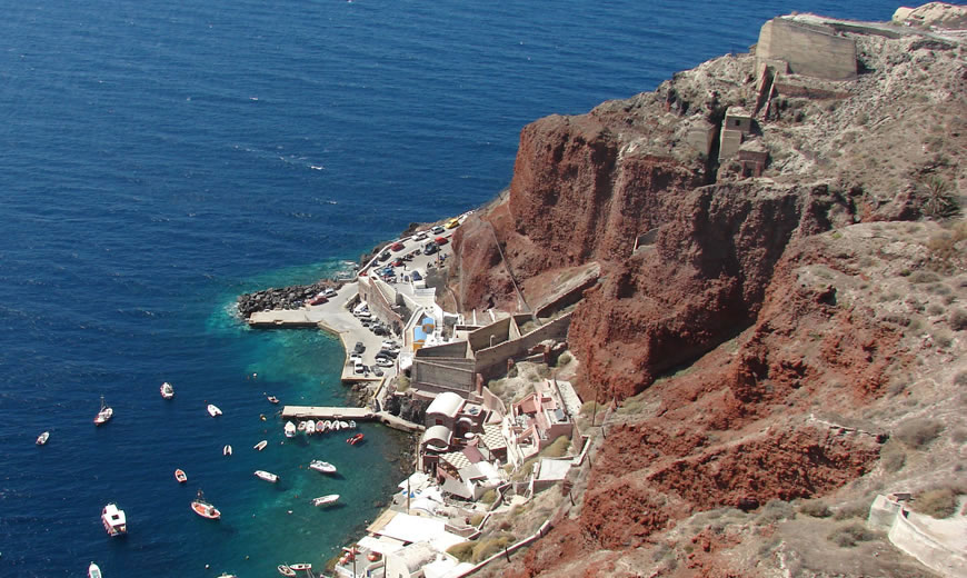Santorini helicopter tours