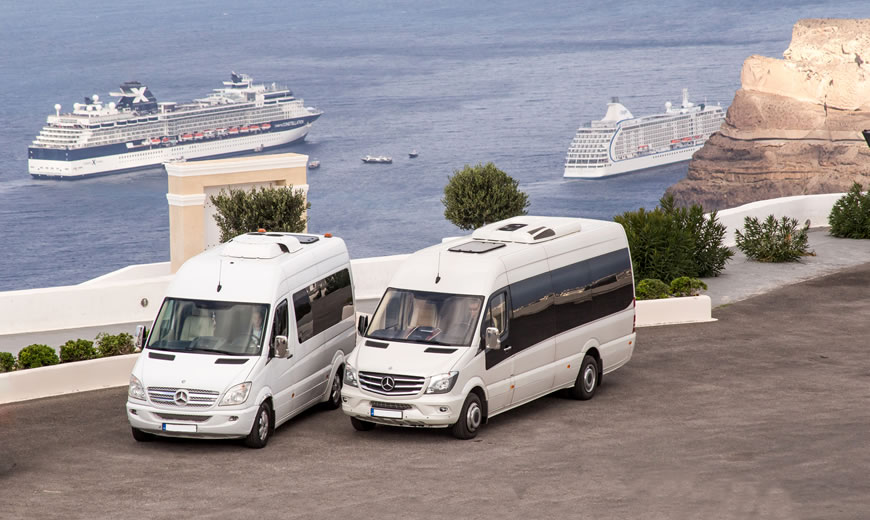 Private Transfers & Weddings Transfers in Santorini