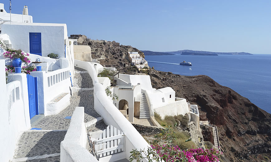 private tour in Santorini